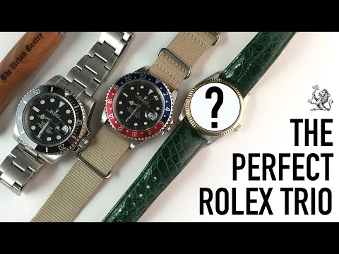 The Perfect Rolex Trio Collection - Top 10 Favourite Rolex Watches & A Bargain Casio Unboxing