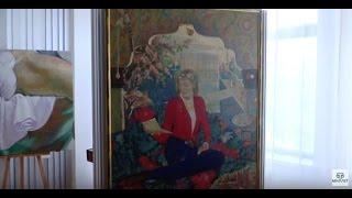 Выставка художника Исмета Шейх-Заде в симферопольской библиотеке им. И. Франко. 27.10.16
