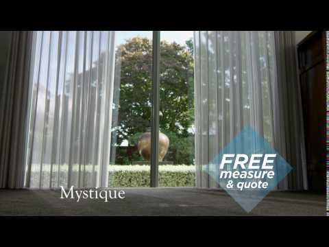 Window Treatments NZ Ltd - Mystique, a blind and curtain in one