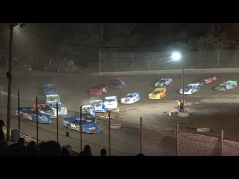 Hilltop Speedway Late Model Feature 7-12-2019