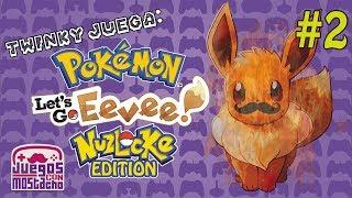 Twinky juega - Pokemon Let's Go Eevee Nuzlocke Edition - Parte 2