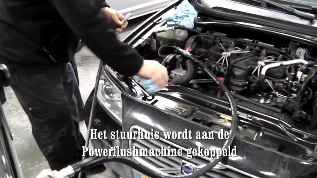 Power Steering Fluid Flush >> Powerflush door Gery Slot - Stuurhuis - YouTube
