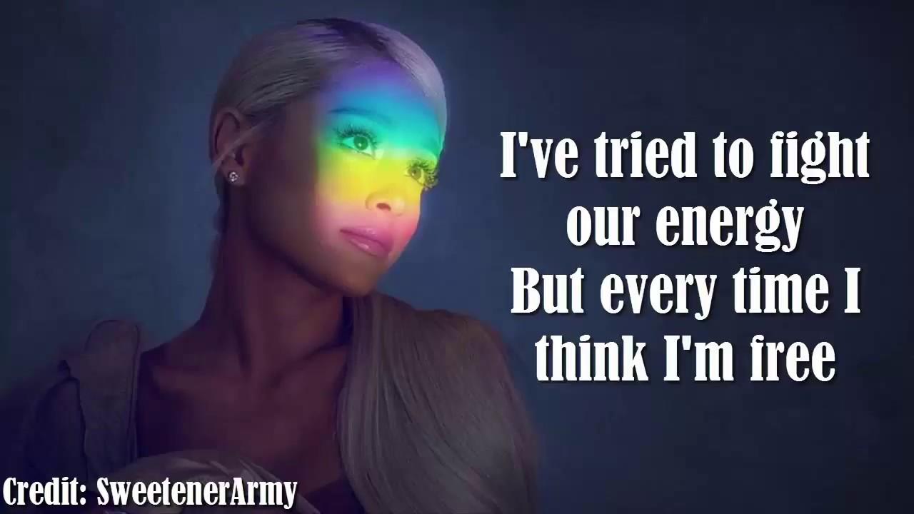 ariana grande everytime lyrics youtube