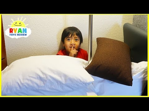 Best Hide and Seek Spot in the Hotel!!!