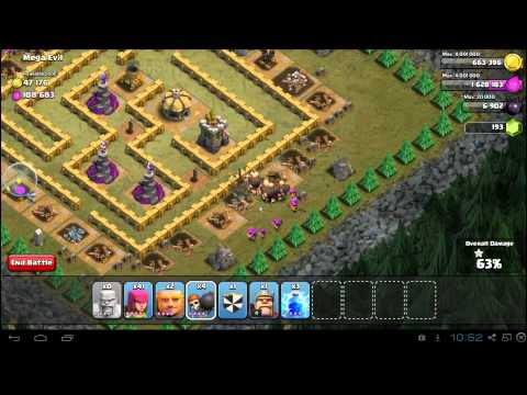 Clash of Clans Mega Evil 3 Star Campaign Guide: TH7 Strategy