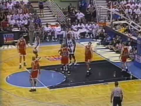 Bulls vs. Magic 1995 NBA playoffs Game 5 (1/...)