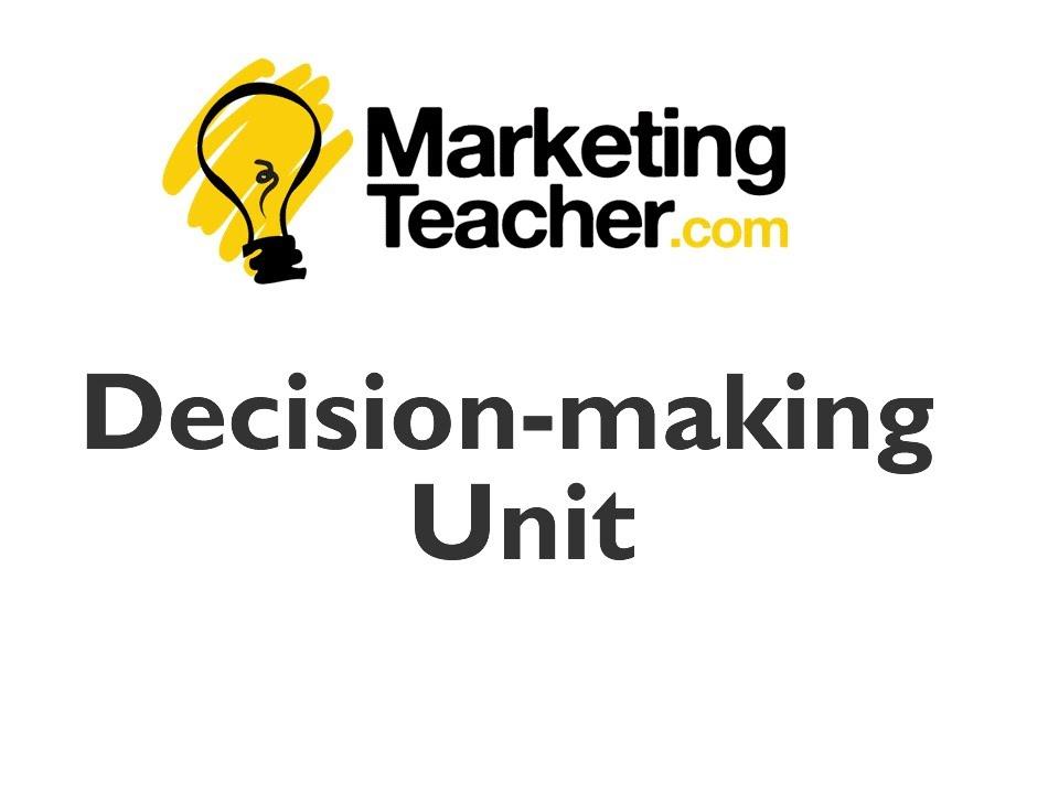 Download Decision-Making Unit (DMU)