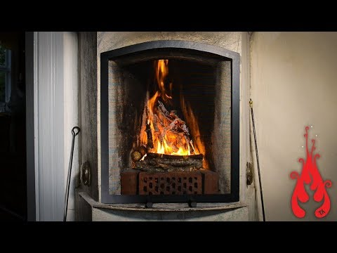 Making a simple fireplace screen