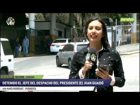 Venezuela - Se confirmó detención de Roberto Marrero en el SEBIN Helicoide - VPItv