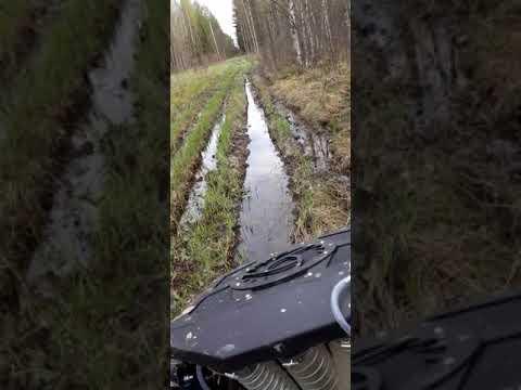 Купил Квадроцикл РМ500 испытываю в грязи