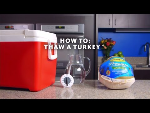 Justin The Web Guy - Is Your Turkey Ready For The Oven? Here Are Some Suggestions For Defrosting