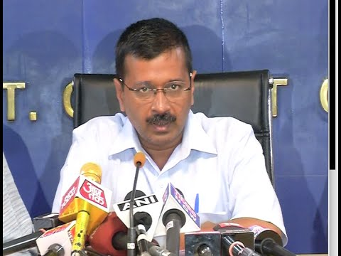 Press Conference of CM Sh. Arvind Kejriwal 17-08-2016.