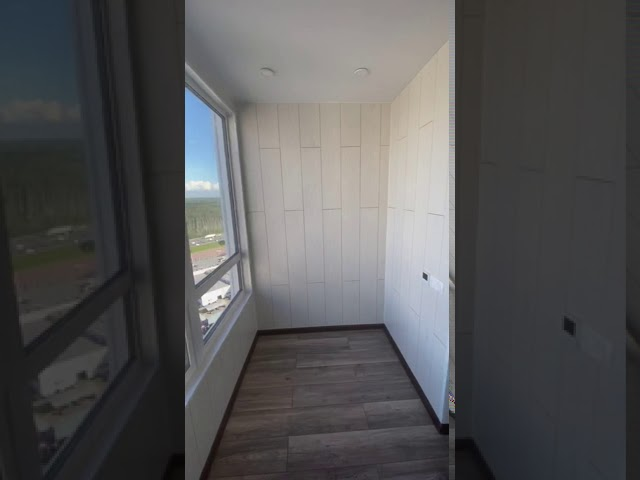 Смотреть видео Балкон под ключ, Строителей 20