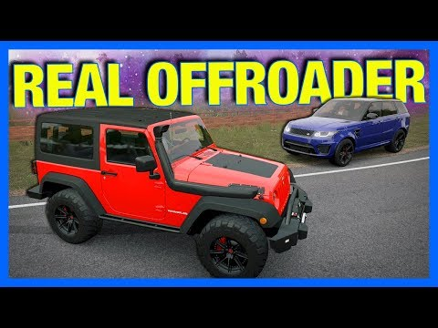 Forza Horizon 3 Online : REAL WORLD OFFROAD CHALLENGE!!