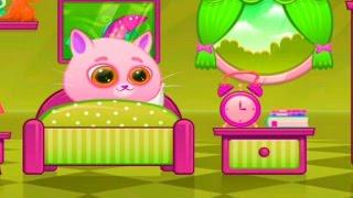 КОТИК БУБУ #49 Мой виртуальный котик МУЛЬТИК ИГРА  для детей #УШАСТИК KIDS