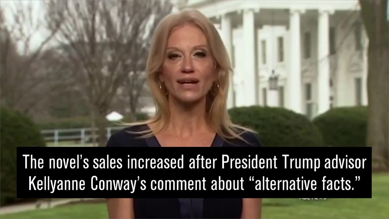 Sales of Orwell's '1984' spike after Kellyanne Conway's ...