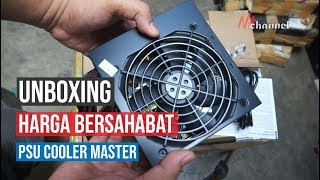 Cooler Master MasterWatt Lite 500W 80 Plus Unboxing | PSU Ekonomis Cooler Master