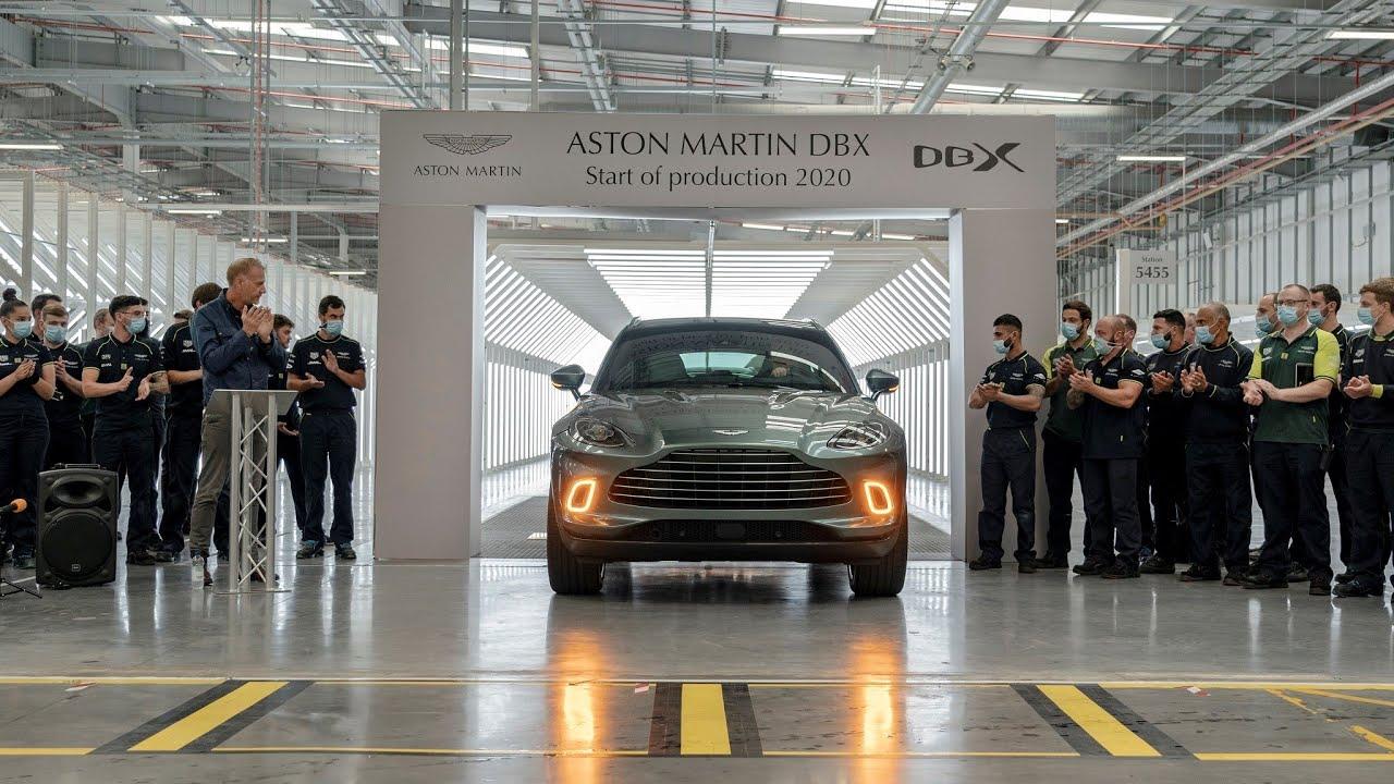 Aston Martin DBX 第一輛市售版正式下線|TopGear TW 極速誌
