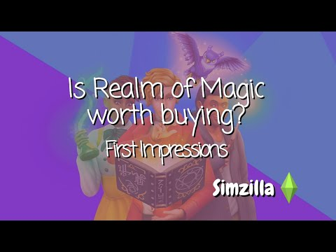 The Sims 4 Realm of Magic First Impressions! |