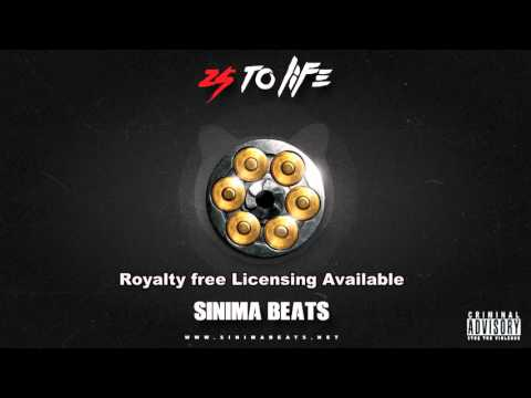 25 to Life Instrumental (Trap Beat with Dark Piano) Sinima Beats