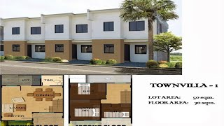 New Cavite Houses TOWNVILLA 1, Amaya Breeze Subdivision Tanza, Cavite, Philippine Property