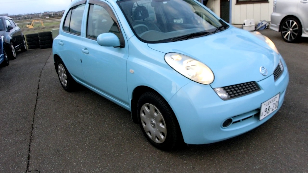 KS AUTO EXPORTS 2006 Nissan March Blue