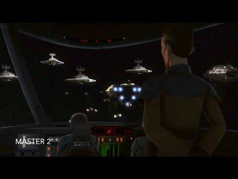 [The Imperial Fleet begins to destroy The Rebel fleet] Star Wars Rebels Season 3 Episode 21 [HD]