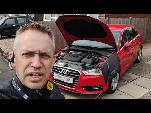Diagnostic consultation and Engine Carbon Clean on an Audi A3 2.0 TDI (2014 - 42,643 miles)