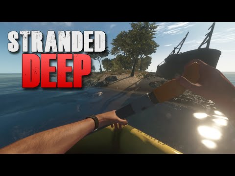 STRANDED ON AN ISLAND | Stranded Deep #1 (Castaway The Game) |
