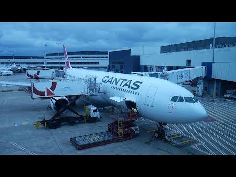 Qantas A330-300 Sydney to Hong Kong Business Class