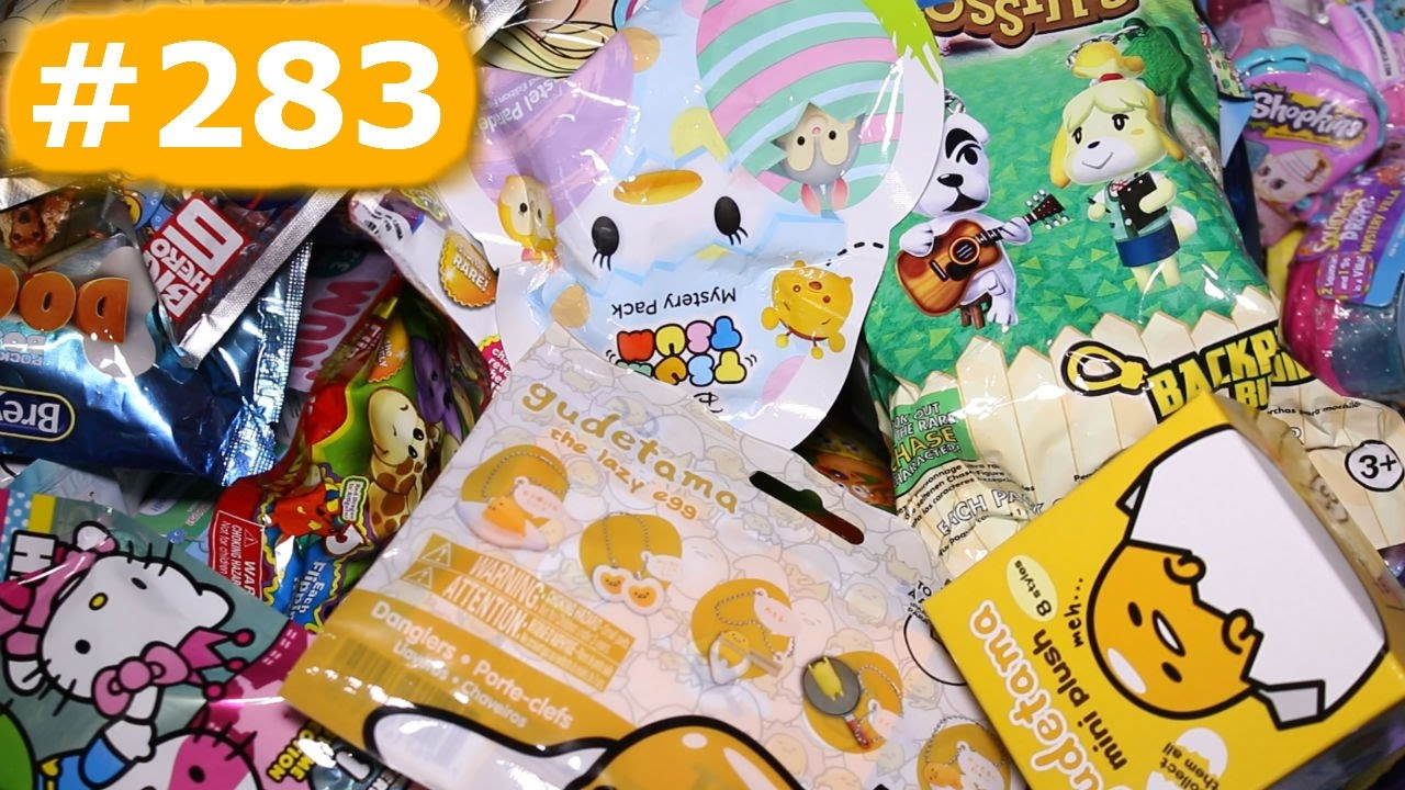 Random Blind Bag Box Episode 283 Yummy World