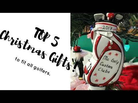 2017 Top 5 Golf Christmas Gifts