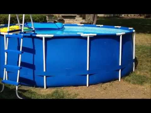 How to patch and repair a leaking pool