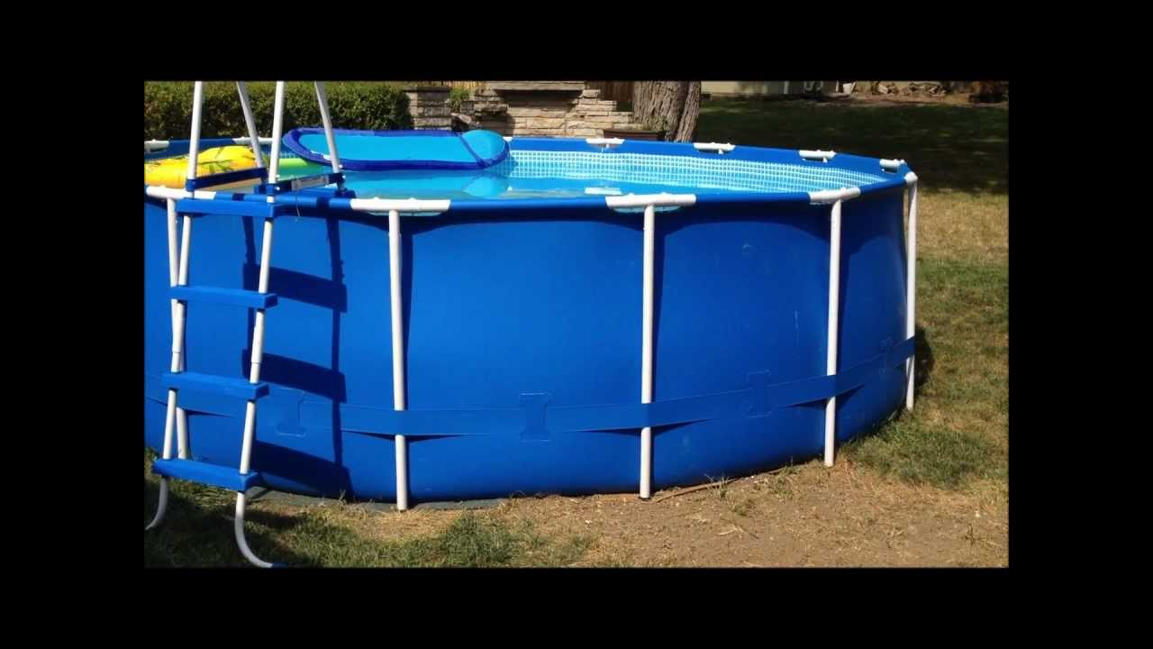 How To Patch And Repair A Leaking Pool Youtube