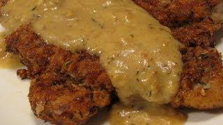 Schnitzel Recipe - Chicken Fried Pork Chops With Mustard Sauce