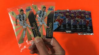 RONALDO CRYSTAL LIMITED!! Apertura Topps Crystal Champions League 2018-19