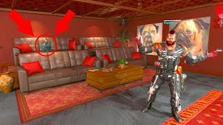 SHE WAS TROLLING ME WITH THIS NEW GOD MODE GLITCH SPOT HIDE N SEEK ON BLACK OPS 4