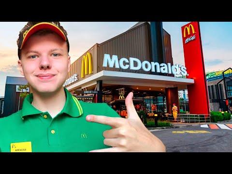 McDonalds| УСТРОИЛСЯ НА РАБОТУ| ВСЯ ПРАВДА| СКОЛЬКО ПЛАТЯТ? работа в макдоналдс