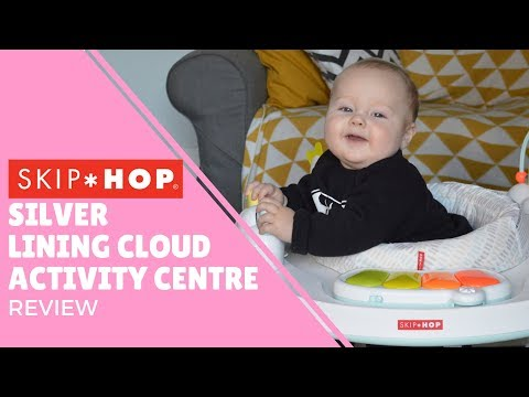 SKIP HOP Silver Lining Cloud Activity Centre | Review | Best Baby Toys | OH HI DIY