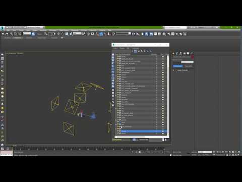 how to clean a scene in 3d max