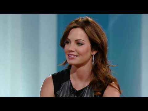 Erica Durance on George Stroumboulopoulos Tonight: INTERVIEW