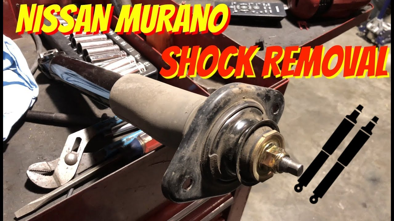 When To Replace Shocks And Struts >> How To Install-Replace Remove Rear Shocks-Struts Nissan ...