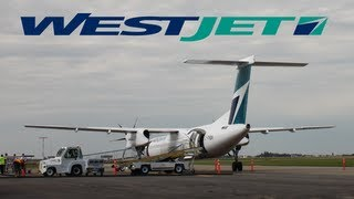 WestJet Encore, First Revenue Flight to Brandon!