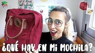 ¿Qué hay en mi mochila para la universidad?  2018 + Gafas Firmoo (AD) || Fjäll Räven Kånken Classic