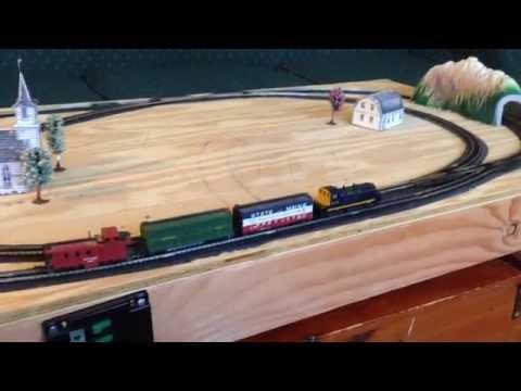 N Scale Train Set for Sale – Atlas N Code 80 Layout 11002