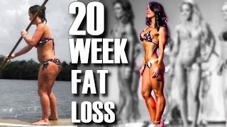 20 WEEK BIKINI BODY TRANSFORMATION | NATURAL FAT LOSS RESULTS | DUFF to Diva Finale