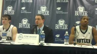 Butler basketball coach Brandon Miller