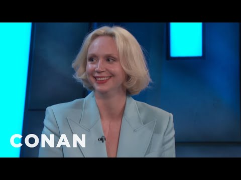 "Gwendoline Christie's Dentist Begged Her For ""Game Of Thrones"" Spoilers  - CONAN on TBS"