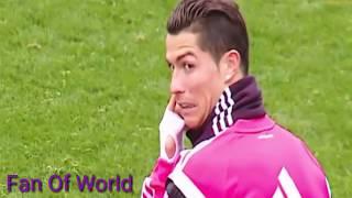 Cristiano Ronaldo's funny moment in football history