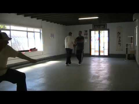 Yang Family Tai Chi Spear class lesson
